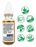 Hemp CBD Oil Full Spectrum/Full Plant Extract 1500mg (Unflavored)