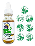 Hemp CBD Oil Full Spectrum/Flower Extract 500mg (Mango flavor)