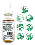 Hemp CBD Oil Full Spectrum/Flower Extract 500mg (Unflavored)