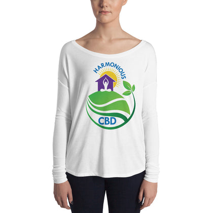 Harmonious CBD Ladies' Long Sleeve Tees