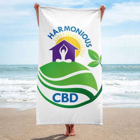 Harmonious CBD Beach towels