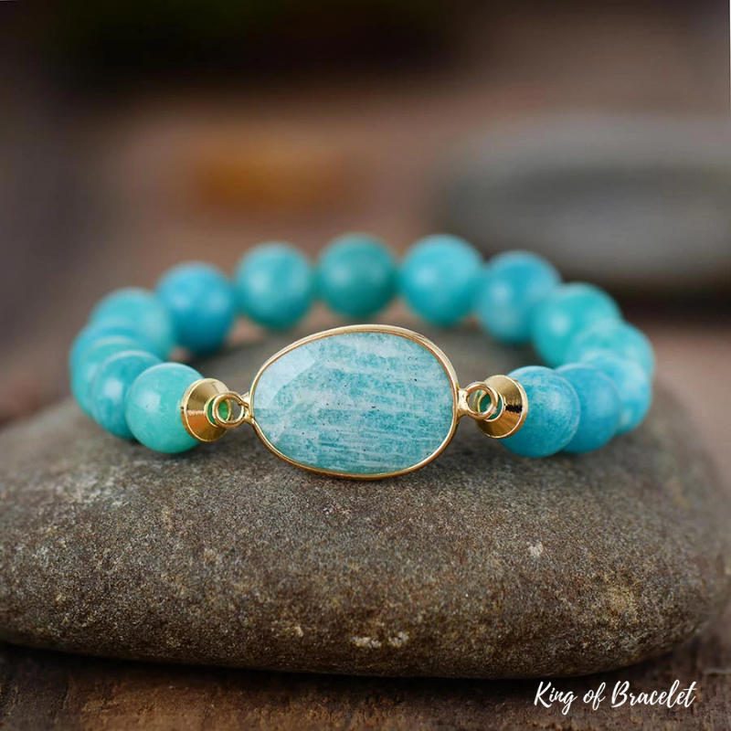 Bracelet en Amazonite 10MM - King of Bracelet