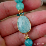 Bracelet en Pierre Amazonite 10MM - King of Bracelet