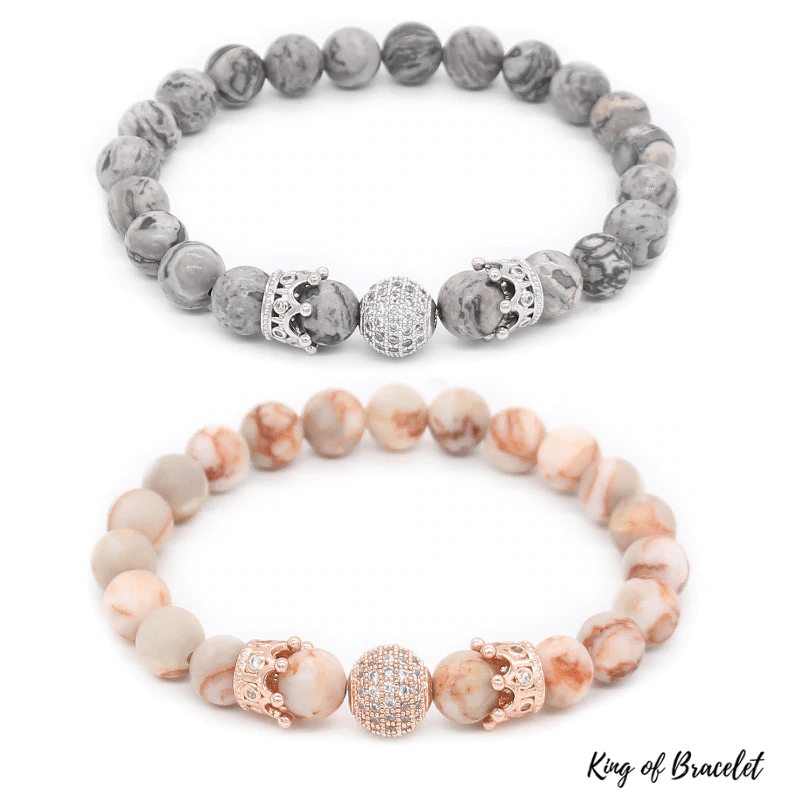 Bracelet Distance Couronne Luxe - King of Bracelet