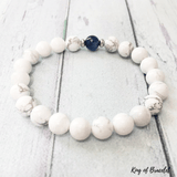 Bracelet Howlite et Kyanite - King of Bracelet