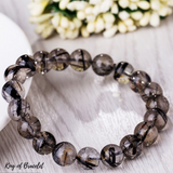 Bracelet Quartz Rutile Noir - King of Bracelet