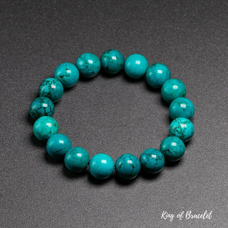 Bracelet en Turquoise 12MM - King of Bracelet
