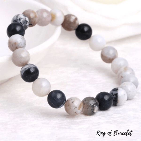 Bracelet en Agate Dendritique - King of Bracelet