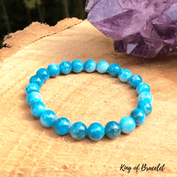 Bracelet en Apatite Bleue - King of Bracelet