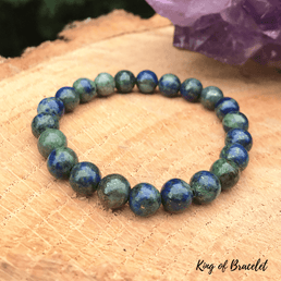Bracelet en Azurite Malachite - King of Bracelet
