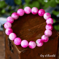 Bracelet en Calcédoine Rose - King of Bracelet