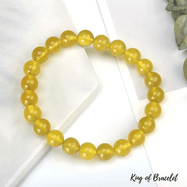 Bracelet en Jade Citron - King of Bracelet
