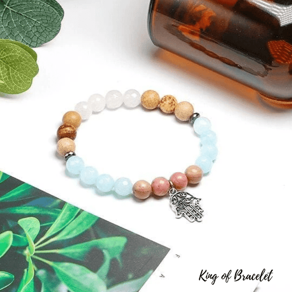 Bracelet Main de Fatma en Pierres Naturelles - King of Bracelet