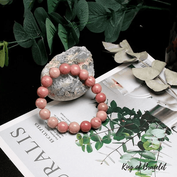 Bracelet en Rhodonite Qualité AAA+ - King of Bracelet