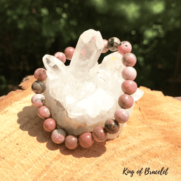 Bracelet en Rhodonite - King of Bracelet