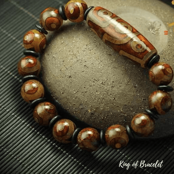 Bracelet Tibétain en Agate - King of Bracelet