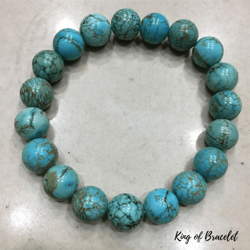 Bracelet Turquoise Naturelle - King of Bracelet