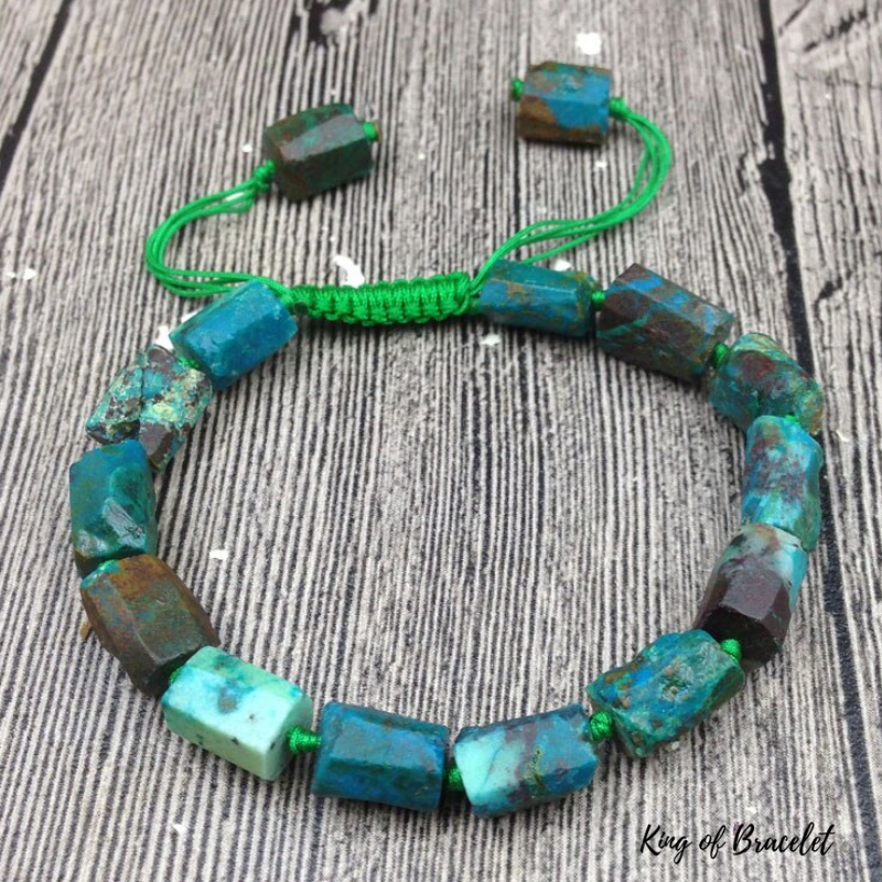 Bracelet Ajustable en Chrysocolle - King of Bracelet
