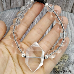 Bracelet Ajustable en Cristal de Quartz - King of Bracelet