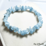Bracelet Baroque en Aigue Marine - King of Bracelet