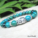 Bracelet Bouddhiste en Chrysocolle - King of Bracelet