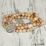 Bracelet Bouddhiste en Agate Crazy Lace - King of Bracelet