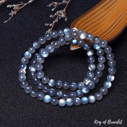 Bracelet Triple en Labradorite Bleue - King of Bracelet