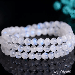 Bracelet Triple en Pierre de Lune - King of Bracelet
