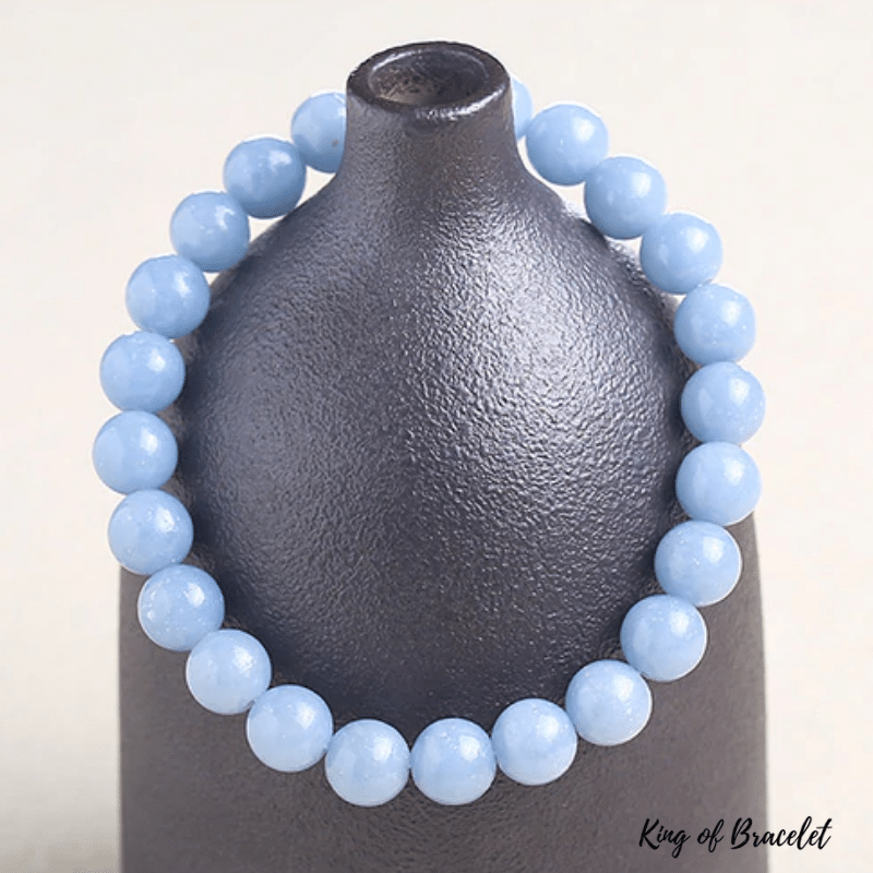 Bracelet Angélite Bleue - King of Bracelet