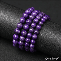 Bracelet en Charoite Naturelle - King of Bracelet