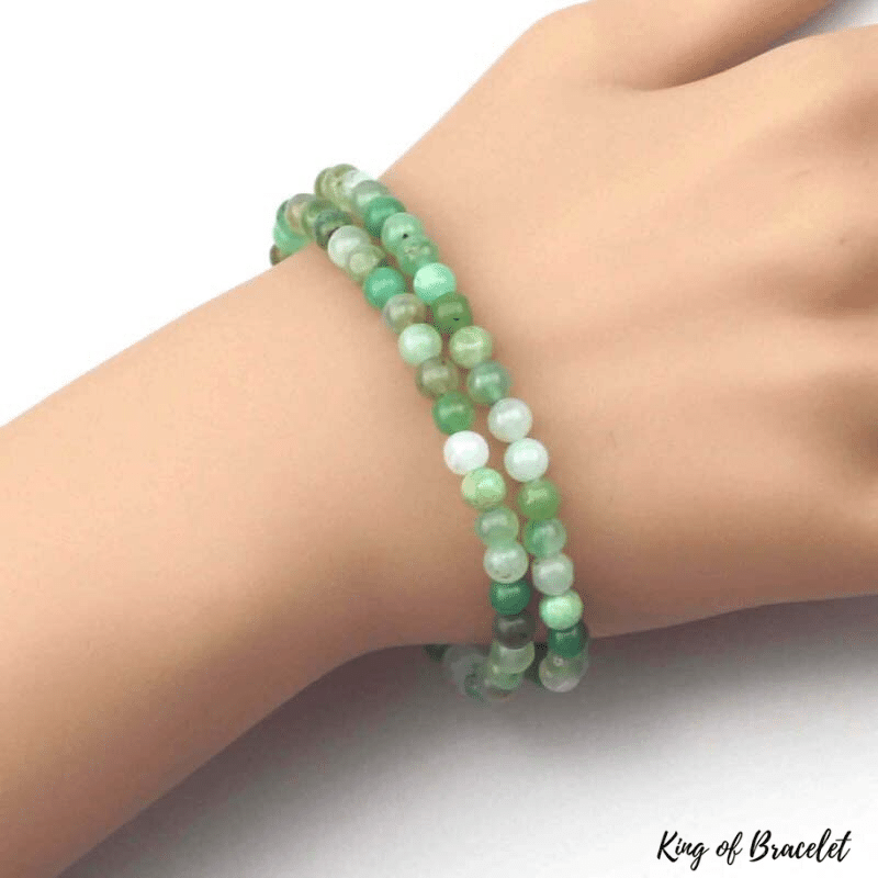 Bracelet Chrysoprase 5MM - King of Bracelet