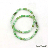 Bracelet en Chrysoprase Perles 5MM - King of Bracelet