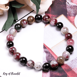 Bracelet Tourmaline Multicolore | Qualité AAA+ | King of Bracelet