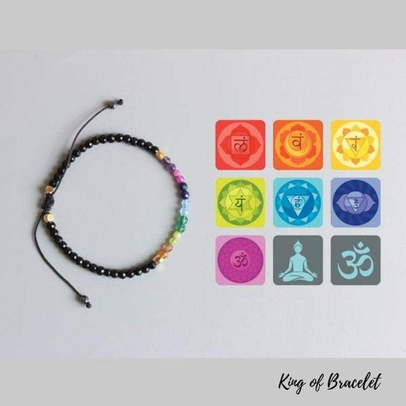 Bracelet 7 Chakras et 12 Constellations - King of Bracelet