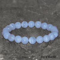 Bracelet en Agate Blue Lace - King of Bracelet