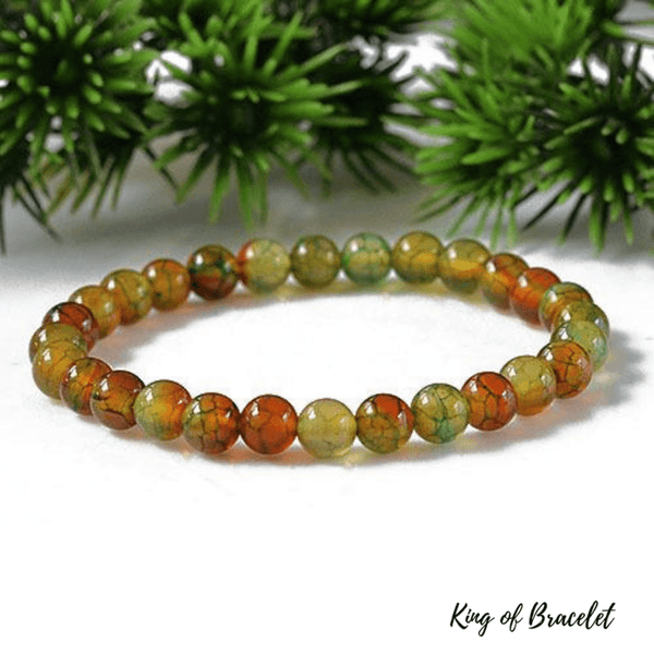 Bracelet en Agate Veine de Dragon - King of Bracelet