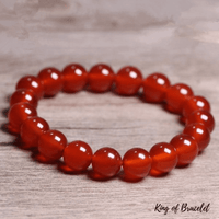Bracelet en Agate Rouge - King of Bracelet