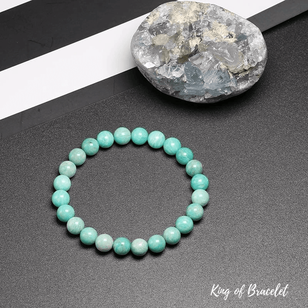 Bracelet en Amazonite Qualité AAA+ - King of Bracelet
