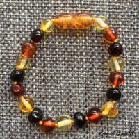Bracelet Ambre 3 Couleurs - King of Bracelet