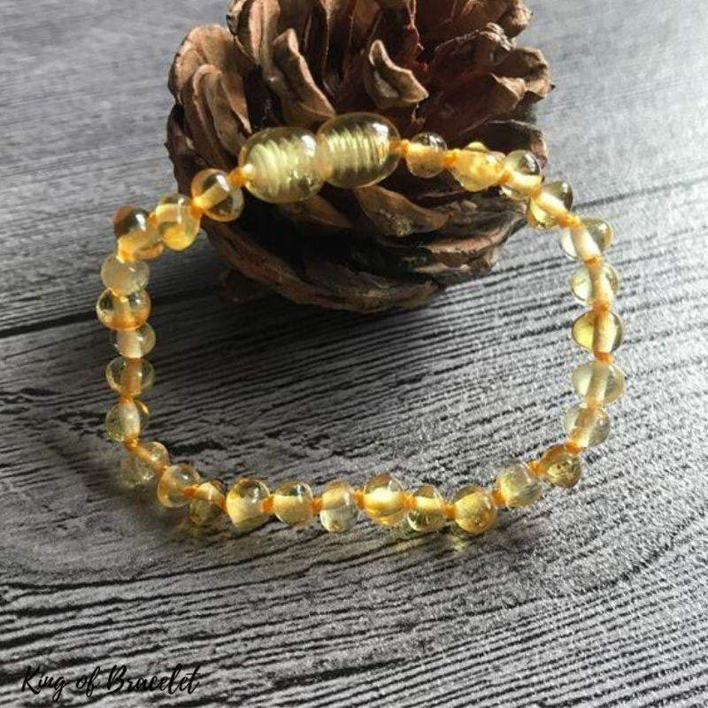 Bracelet Ambre Baltique Véritable - King of Bracelet