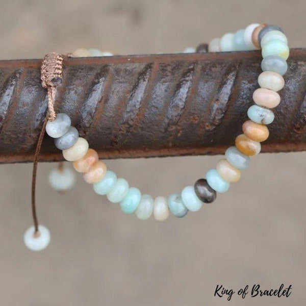 Bracelet Apaisant en Amazonite Naturelle - King of Bracelet