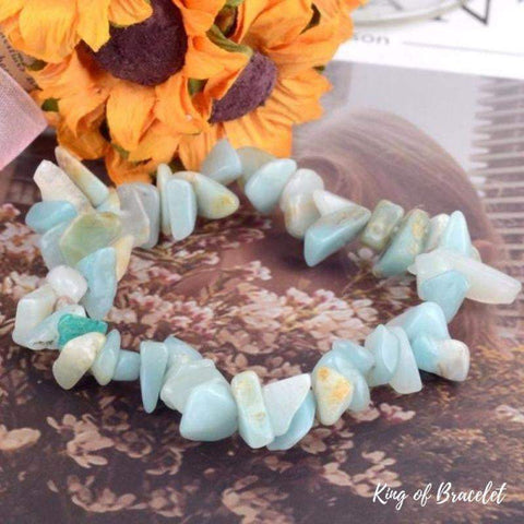 Bracelet Baroque en Amazonite - King of Bracelet