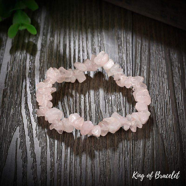 Bracelet Baroque en Quartz Rose - King of Bracelet