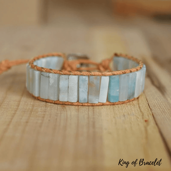 Bracelet Wrap en Amazonite - King of Bracelet
