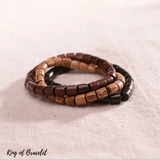 Bracelet en Bois Naturel - King of Bracelet