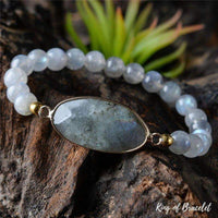 Bracelet de Protection en Labradorite - King of Bracelet