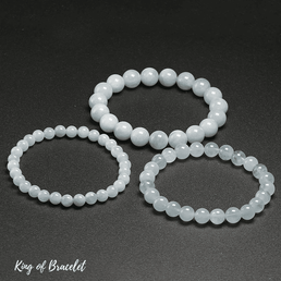 Bracelet en Aigue Marine Qualité AAA+ - King of Bracelet