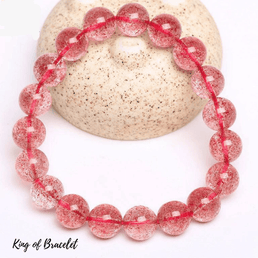 Bracelet en Quartz Fraise - King of Bracelet