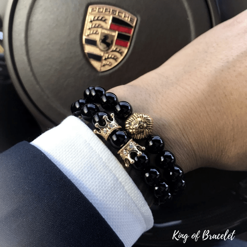 Bracelet Lion en Perles - King of Bracelet
