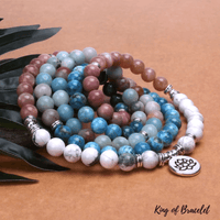 Bracelet Mala Bouddhiste en Pierres Naturelles - King of Bracelet